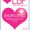 Blogger Of The Year 2013 Shortlist