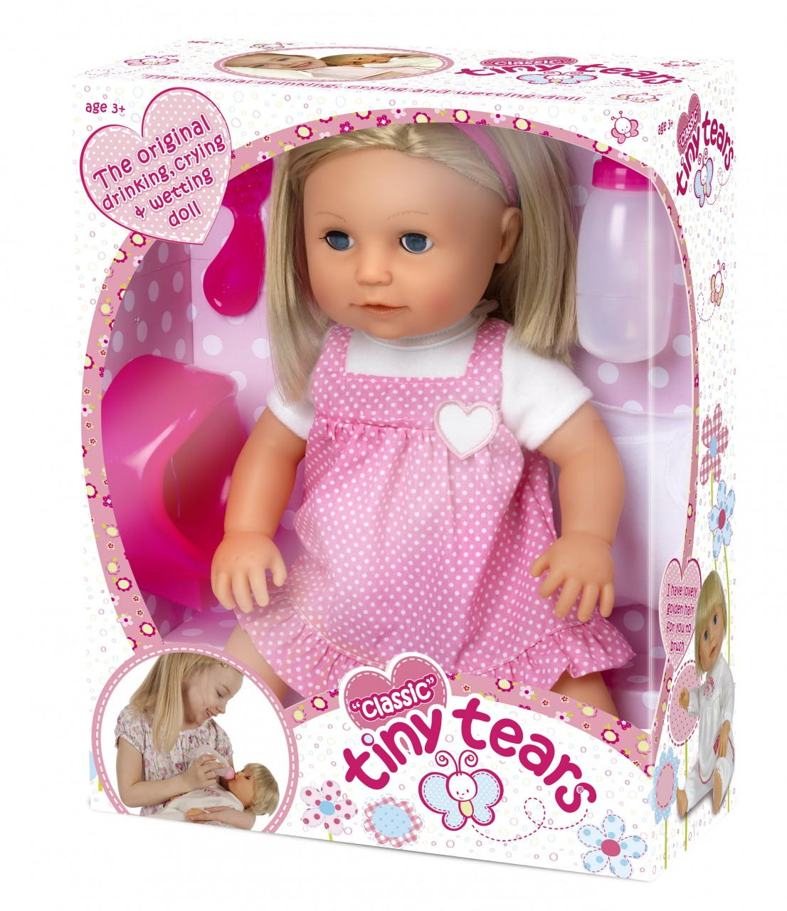 Small Toy Dolls : Tiny tears loved by parents parenting news