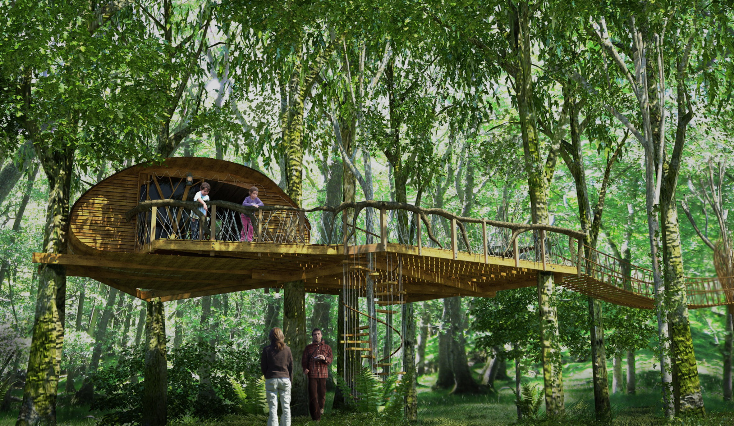 Treehouse experience loved by parents parenting news for Treehouse designers