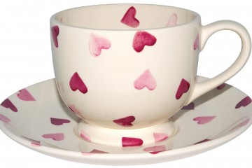 Pink Hearts Cup & Saucer from Emma Bridgewater, £21.95, available at Leekes, www.leekes.co.uk (high res)