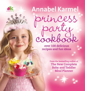 Princess Party cookbook Cover