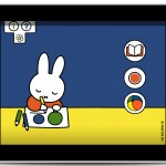 Miffy at School in ipad frame