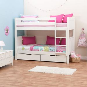 Stompa Classic Kids Bunk Bed - White_A_WP-2