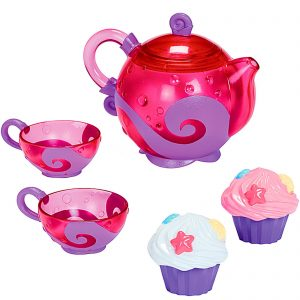 Bath Tea and Cupcake Set