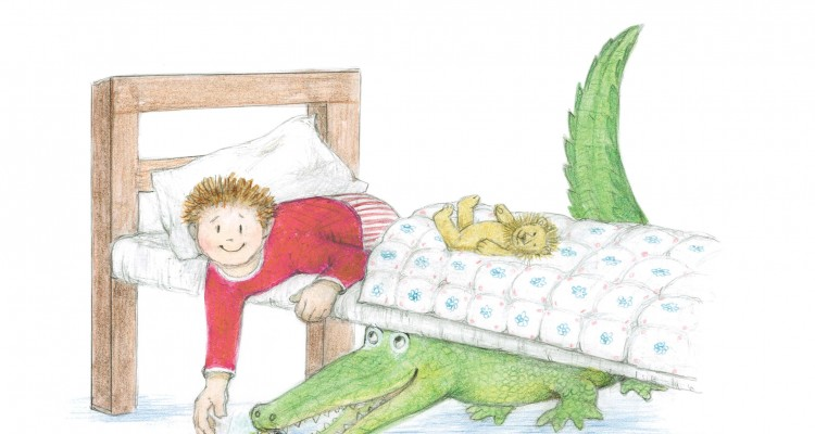 The Crocodile Under the bed image