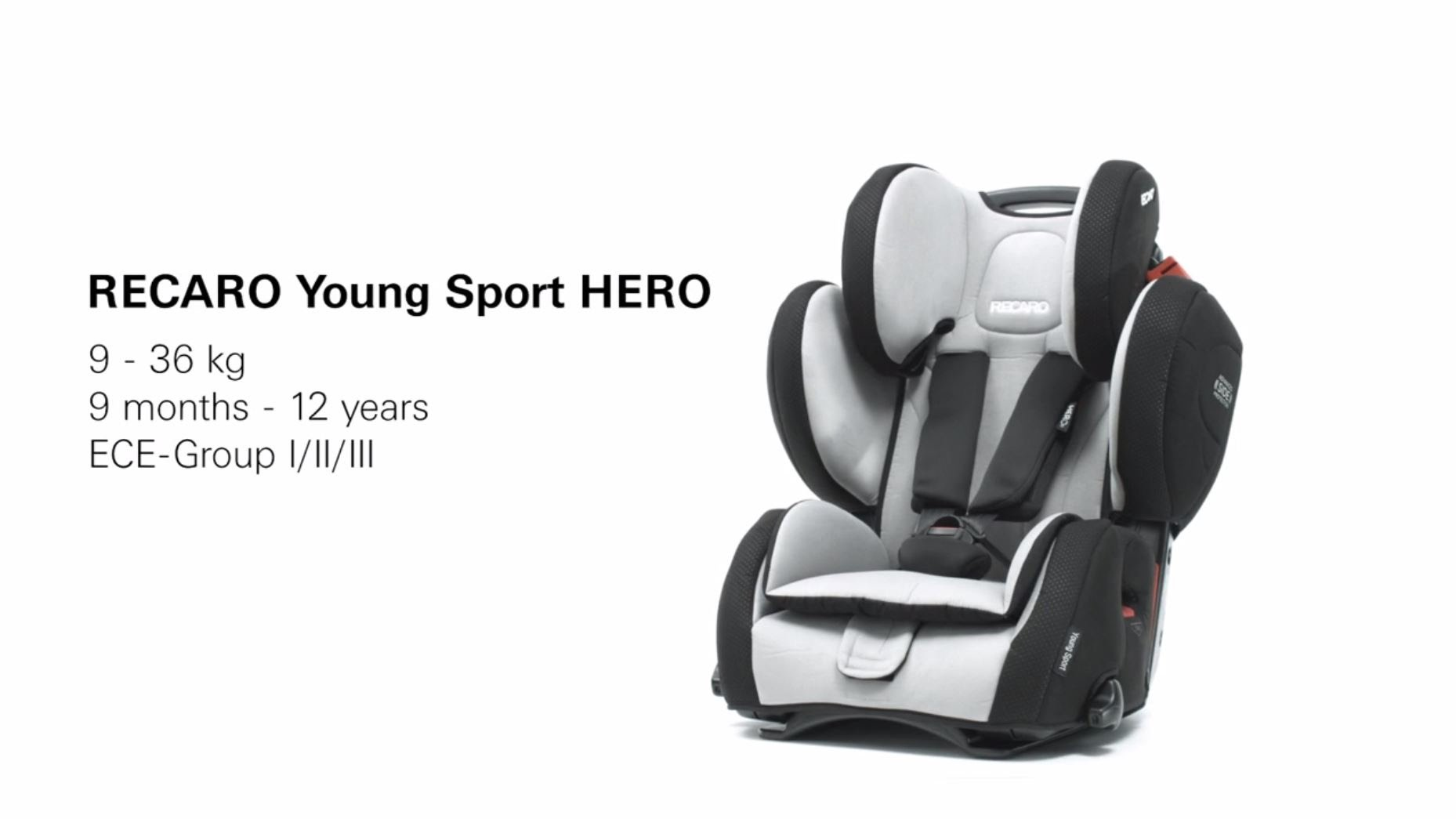 win a recaro young sport hero loved by parents. Black Bedroom Furniture Sets. Home Design Ideas