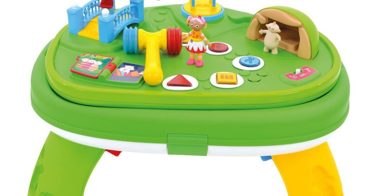 In The Night Garden Furniture Weve got three in the night garden explore and learn musical weve got three in the night garden explore and learn musical activity tables from golden bear to give away workwithnaturefo