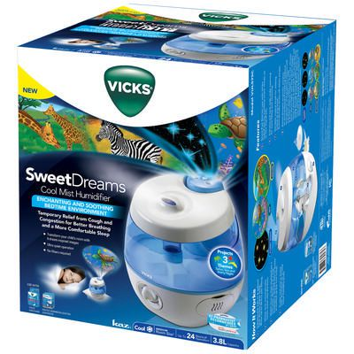 Vicks Starry Night Cool Moisture Humidifier 1 Each Walmart