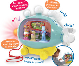 In The Night Garden Pinky Ponk Playset CAT Image