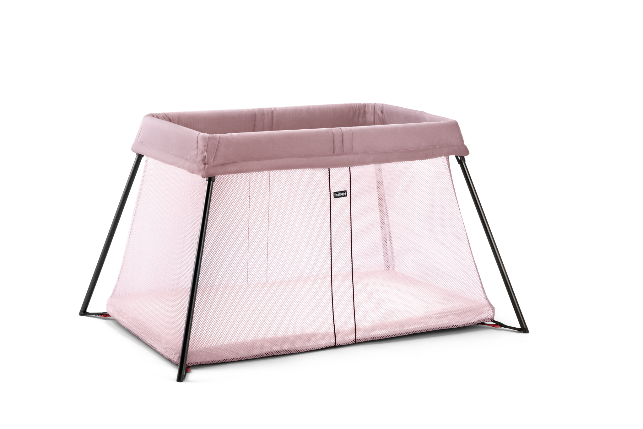 win the new babybj rn travel cot light in pink loved by parents parenti. Black Bedroom Furniture Sets. Home Design Ideas