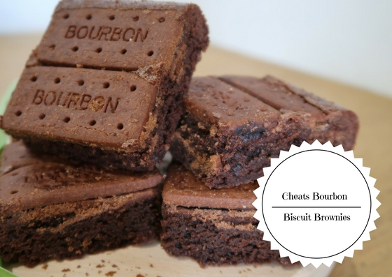 Cheats Bourbon Biscuit Brownies
